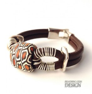 sammunat-polymer-bead-leather-bracelet