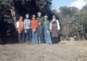 The Danu Sherpa and Higgins families